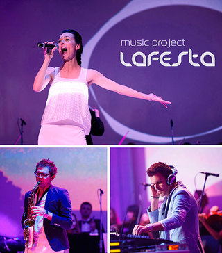 LAFESTA music project, Lafesta music band, live music for event and party, cover band for wedding, best music group