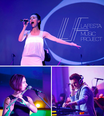 LAFESTA music project, Lafesta music band, live music for event and party, cover band for wedding and corporate