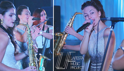 LAFESTA music project, Lafesta music band, party band, wedding band, live music for event, cover band for corporate